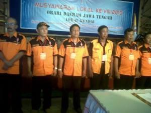 Segenap DPP dan Pengurus harian ORLOK KENDAL