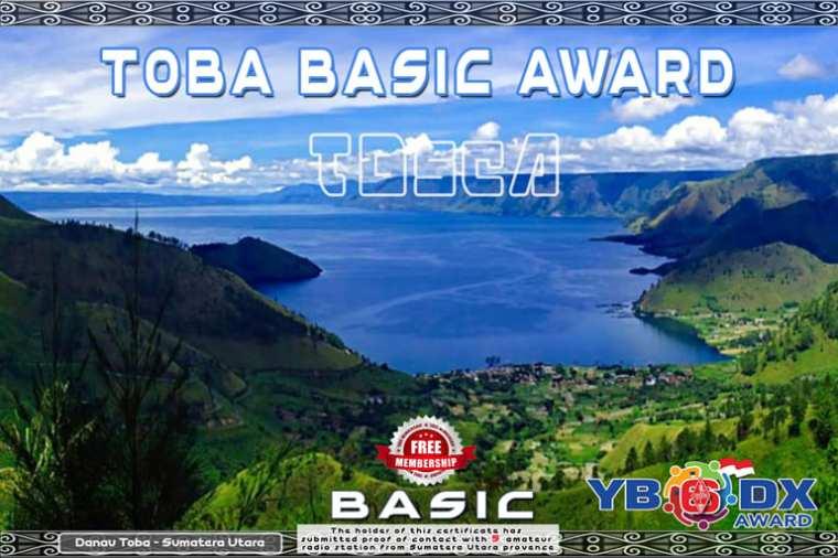 Toba Lake Award Basic