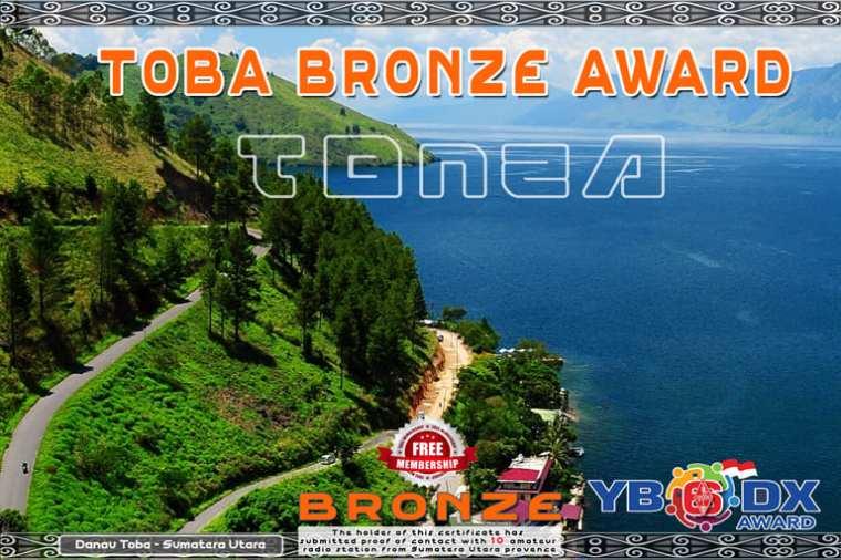 Toba Lake Award Bronze