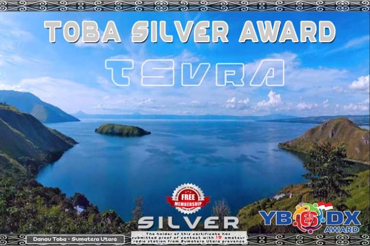 Toba Lake Award Silver