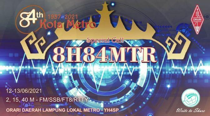 Special Call 8H84MTR HUT Kota Metro Lampung Ke-84